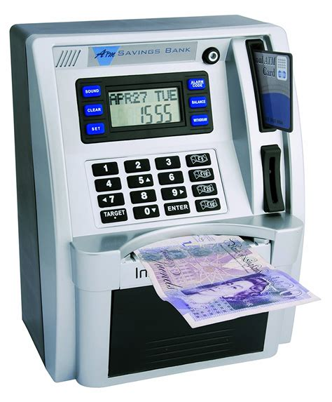 bank atm machine peers hardy new atm bank childs saving box