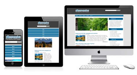 what is a responsive template zresponsive free responsive html5 theme zerotheme