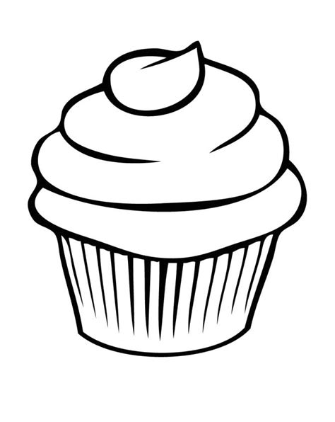 Free Cupcake Coloring Pages coloring pages cupcakes az coloring pages