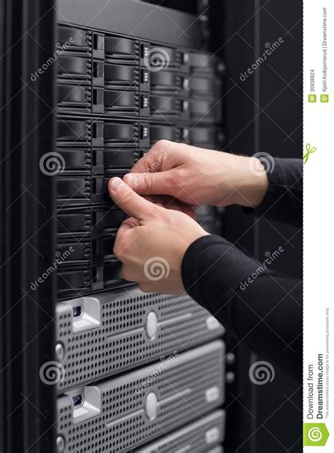 Data Technician by It Consultant Maintain San Stock Images Image 30938824