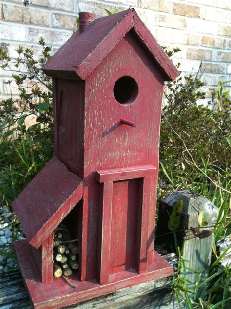 simple and classic style of birdhouse design ideas nuanced