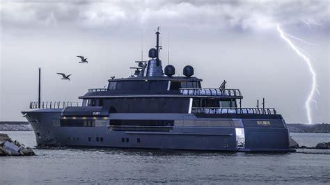 grey layout boat lightning strikes as crn s 55m superyacht atlante