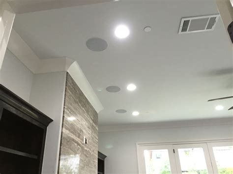 In Ceiling Speakers Home Theater by 17 Best Ideas About Ceiling Speakers On In