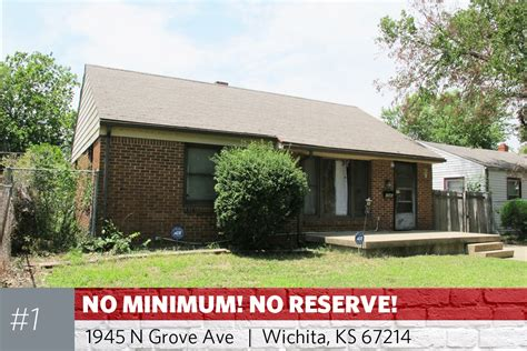 31 wichita area multi property investment auction