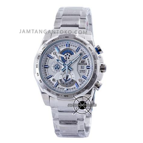 Jam Tangan Casio Edifice Efr 523 Original Bm harga sarap jam tangan edifice efr 523d 7av silver plat putih clone original