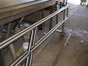 Steel Handrail Stair