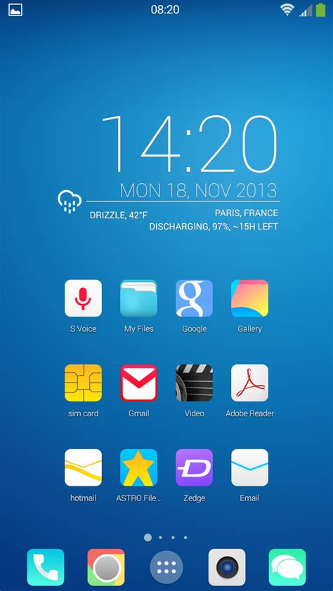 themes for android kitkat themes for android new android 4 4 kit kat concept hd for