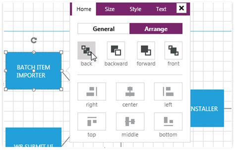 xaml layout types telerik wpf diagram control raddiagrams for wpf
