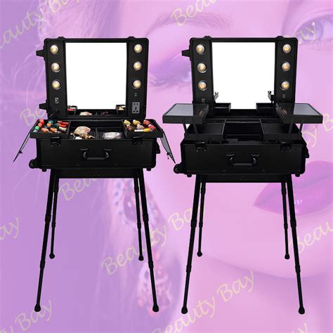 makeup mirror stand with lights makeup case with mirror msia makeup vidalondon