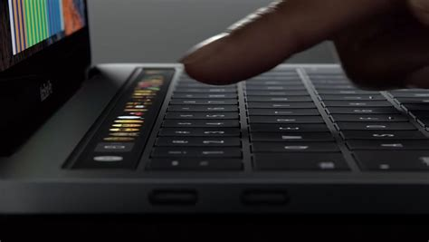 Macbook Pro Touch Bar macbook pro with touch bar review the best bits of ios in