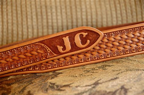handmade western leather belt patterns lone tree leather