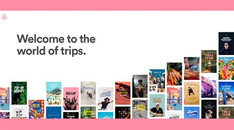airbnb trips airbnb launches trips unleashes new small business