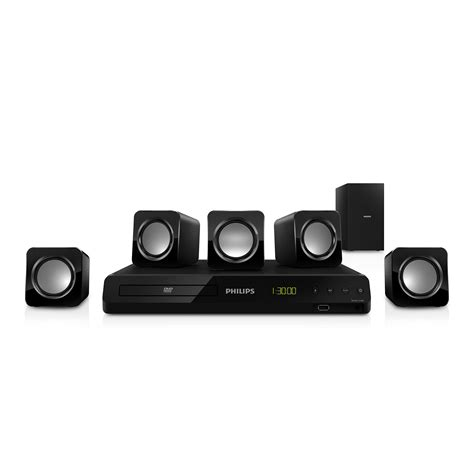 philips htd3500 12 5 1 channel home theater system dolby