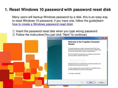 windows reset password share top 3 ways to reset windows 10 password
