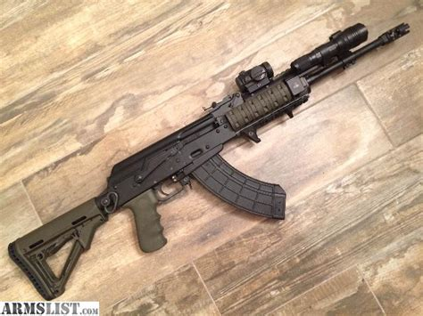 arsenal ak armslist for sale custom arsenal arms sgl 21 ak 47 in 7