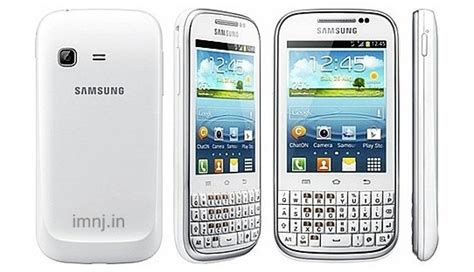 Handphone Samsung Galaxy Chat B5330 samsung galaxy chat b5330 specs review release date