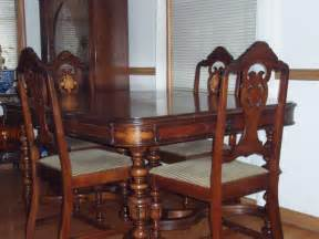 Antique Furniture Dining Room Set Antique Dining Room Set 1960 Decor References