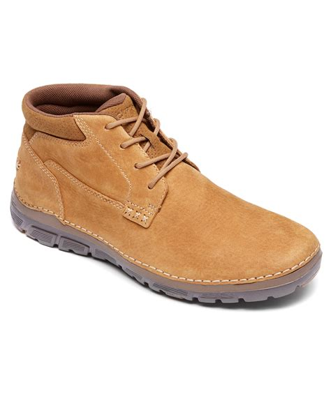 rockport boot for rockport s rocsports lite zonecush plain toe boot