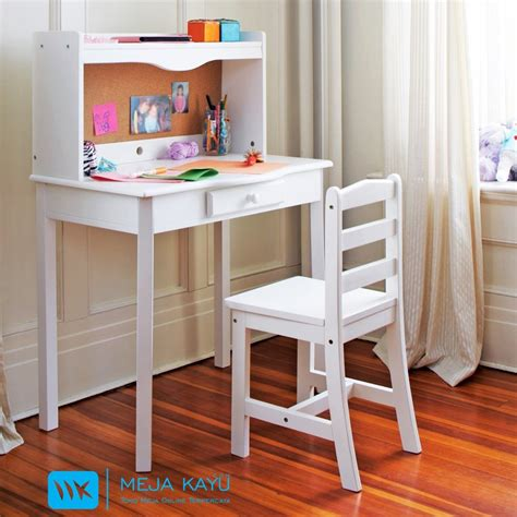 Meja Belajar Yang Murah jual meja belajar anak murah toko meja kayu