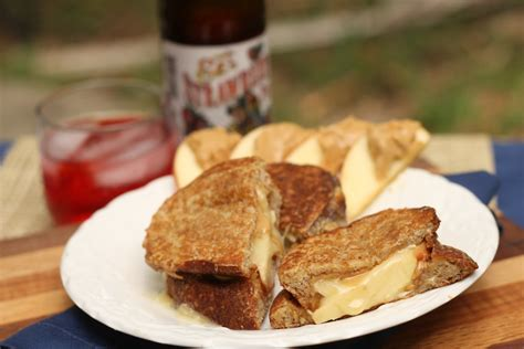 Real Food Real Kitchens by Brie Apple Honey Peanut Butter Grilled Cheese Real Food
