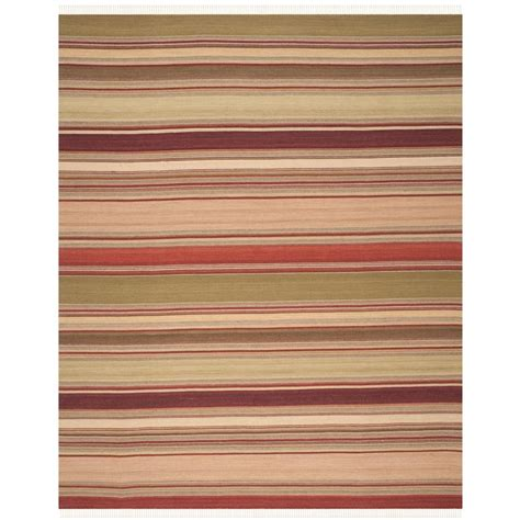 safavieh striped kilim 10 ft x 14 ft area rug