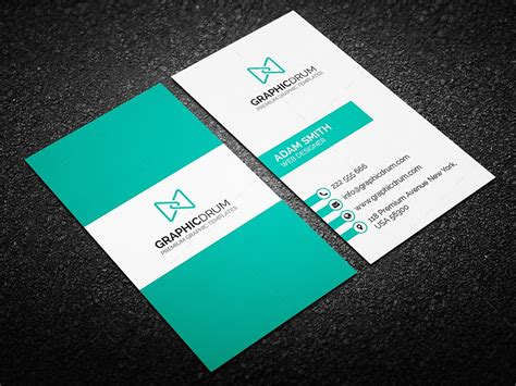 Template Business Card New Address by Free Creative Business Card Graphic