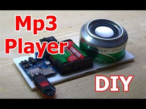 Diy Mp3 Player From Korea by How To Make Mp3 Player At Home Diy Mp3 Player