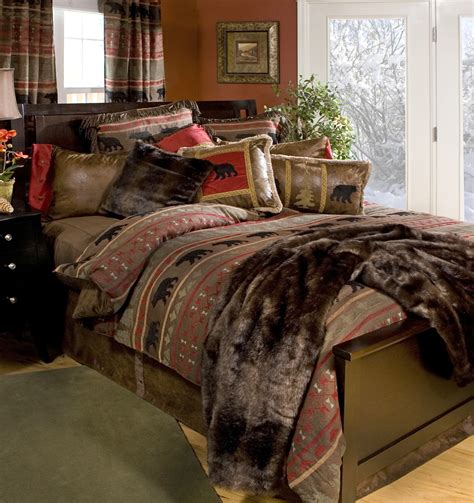 country bedding sets bear country bedding set carstens inc