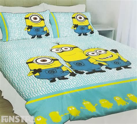 despicable me bed set minions quilt doona duvet cover set bedding despicable me