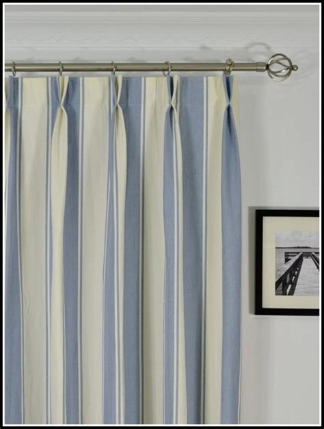 blue ticking stripe curtains blue and white ticking stripe curtains curtains home