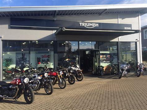 Triumph Motorrad In Bonn by Unser Unternehmen Triumph World Bonn