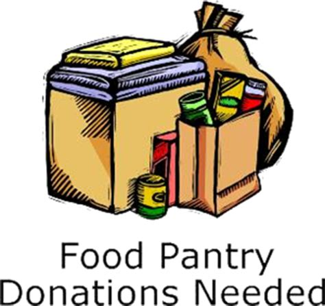 Food Pantry by Church Food Pantry Clipart