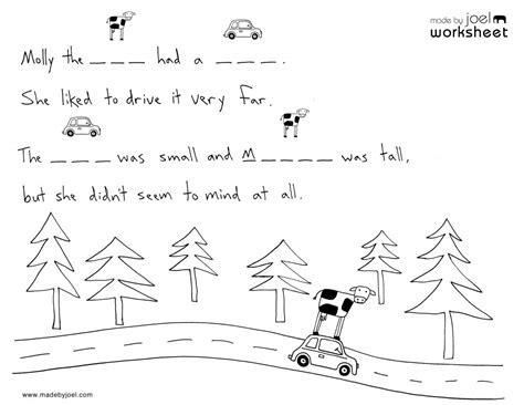 Free Printable Language Arts Worksheets For Kindergarten