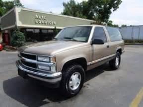 1994 Chevrolet Blazer For Sale 1994 Chevrolet Blazer For Sale Carsforsale