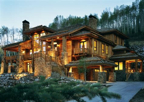 Prairie Style Homes by Nice Luxury Wooden And Stone Houses Ideas Amp Inspirations