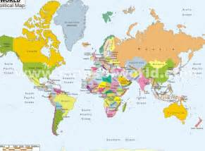 Labeled Map Of World » Home Design 2017
