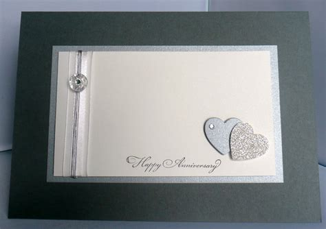 25th Wedding Anniversary Card Designs by Card Magic 25th Wedding Anniversary Card