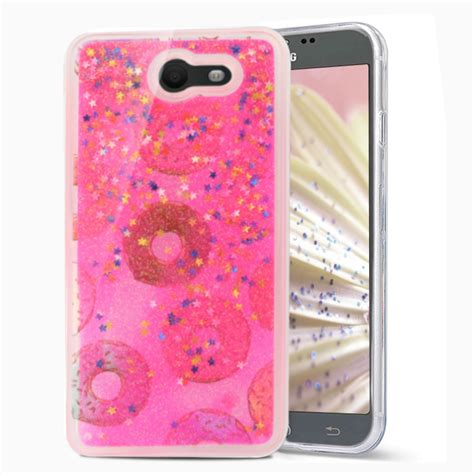 Fashion Water Gliter For Samsung Galaxy J7 for samsung galaxy j7 prime perx liquid moving glitter water design ebay