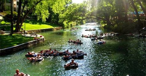Floating The Guadalupe River Cabins by New Braunfels River Floating Such A Summer Day