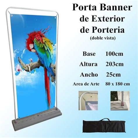 porta banner porta banners para exposiciones