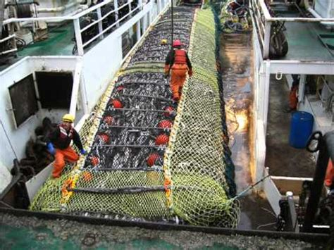 alaska fishing boat processors pollock fishing in the bering sea alaska youtube