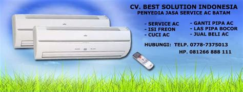 Ac Panasonic Batam service archives cv best solution indonesia
