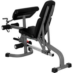 leg extension bench xmark fitness flat incline decline weight bench with