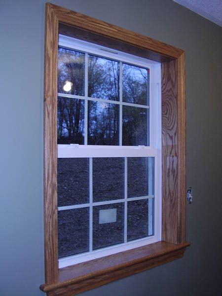 images of oak trim here is oak trim with white vinyl windows home remodeling