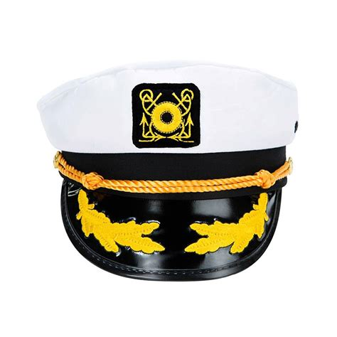 yacht boat captain hat sailor ship yacht boat captain hat navy marines admiral