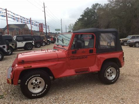 1994 Jeep Wrangler For Sale Used 1994 Jeep Wrangler For Sale Carsforsale