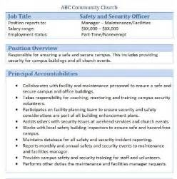 Responsibilities Of A Security Officer by 45 Free Downloadable Sle Church Descriptions