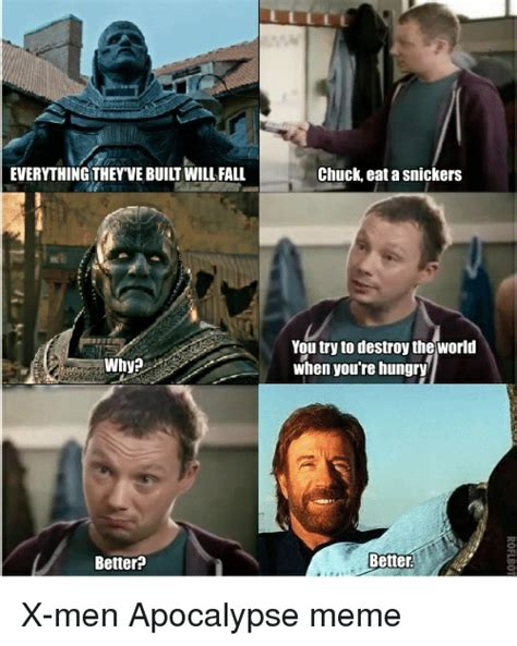 Eat A Snickers Meme - why better chuck eat a snickers you try to destroy the
