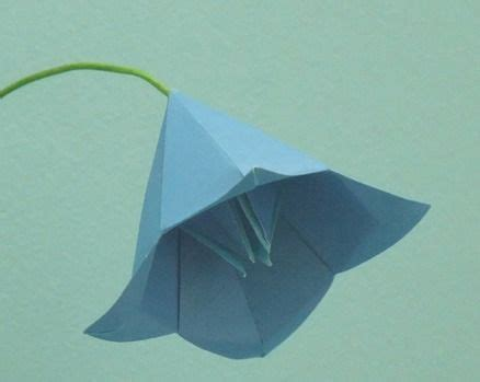 Bell Flower Origami - the world s catalog of ideas