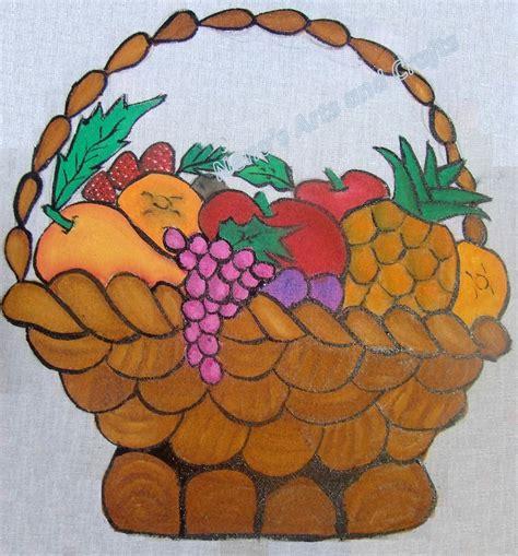m s fruit basket nena s arts and crafts fabric painting diy fruit basket